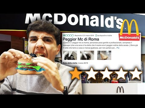 🍔🍟 HO PROVATO IL PEGGIOR McDONALD'S DI ROMA e HO TROVATO QUESTO...