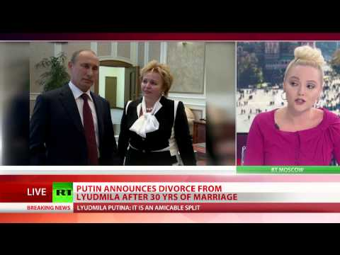 Putin divorce President and wife say their marriage is over