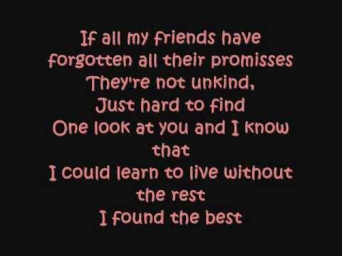I Won't Last A Day Without You LYRICS by - Sarah Geronimo .wmv