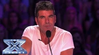 Simon's Meanest Moments - THE X FACTOR USA 2013