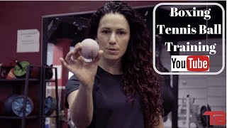 Boxing Tennis Ball Training