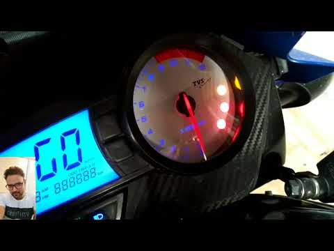 TVS Apache RTR 160/180 Petrol Warning Light.कितना पेट्रोल बचा है ! How Much Petrol You Have?