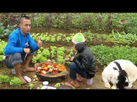 Lẩu Giữa Vườn Rau Chất Nhất Vịnh Bắc Bộ - Cười Vỡ Bụng Với Anh Em Tam Mao - Thời lượng: 31:29.