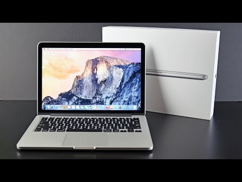 Apple MacBook Pro 13-inch with Retina Display (2015): Unboxing & Overview