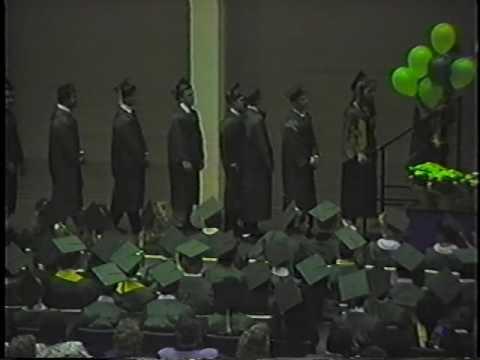 Notre Dame High School (Riverside, CA) 1989 Graduation Video