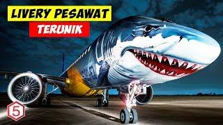 Video 14 Maskapai ini Cat Bodi Pesawatnya Dengan Gambar-Gambar dan Warna-warni Unik MP3, 3GP, MP4, WEBM, AVI, FLV April 2019