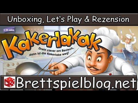 Test: Kakerlakak - Ravensburger: Let's Play & Rezension ●●● Brettspielblog.net