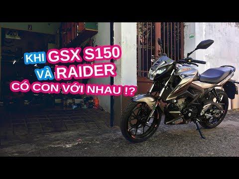 Review Suzuki Bandit | Khi GSX S150 và Raider có con với nhau - Thời lượng: 4 phút, 44 giây.