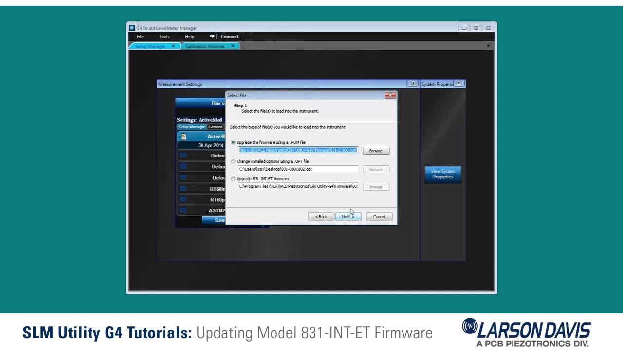Updating 831-INT-ET Firmware