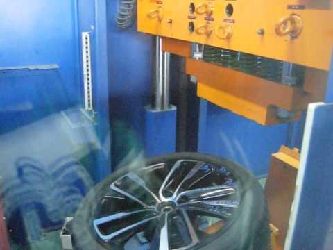 Проверка прочности диска WSP Italy W1152 NEMO на удар обода (Saab)