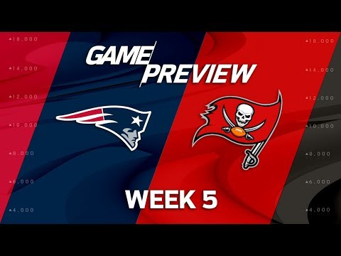 Video: New England Patriots vs. Tampa Bay Buccaneers | Week 5 Game Preview | NFL Playbook