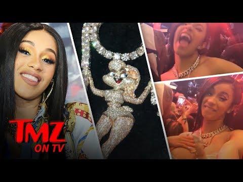 Cardi B Wore $400k in Diamonds At Coachella | TMZ TV