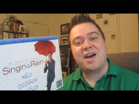 Singin' In The Rain 60th Anniversary Ultimate Collector's Edition Blu-Ray Review Unboxing