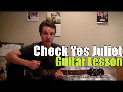 We the Kings - Check Yes Juliet | Guitar Lesson | Craig & Olivia ...