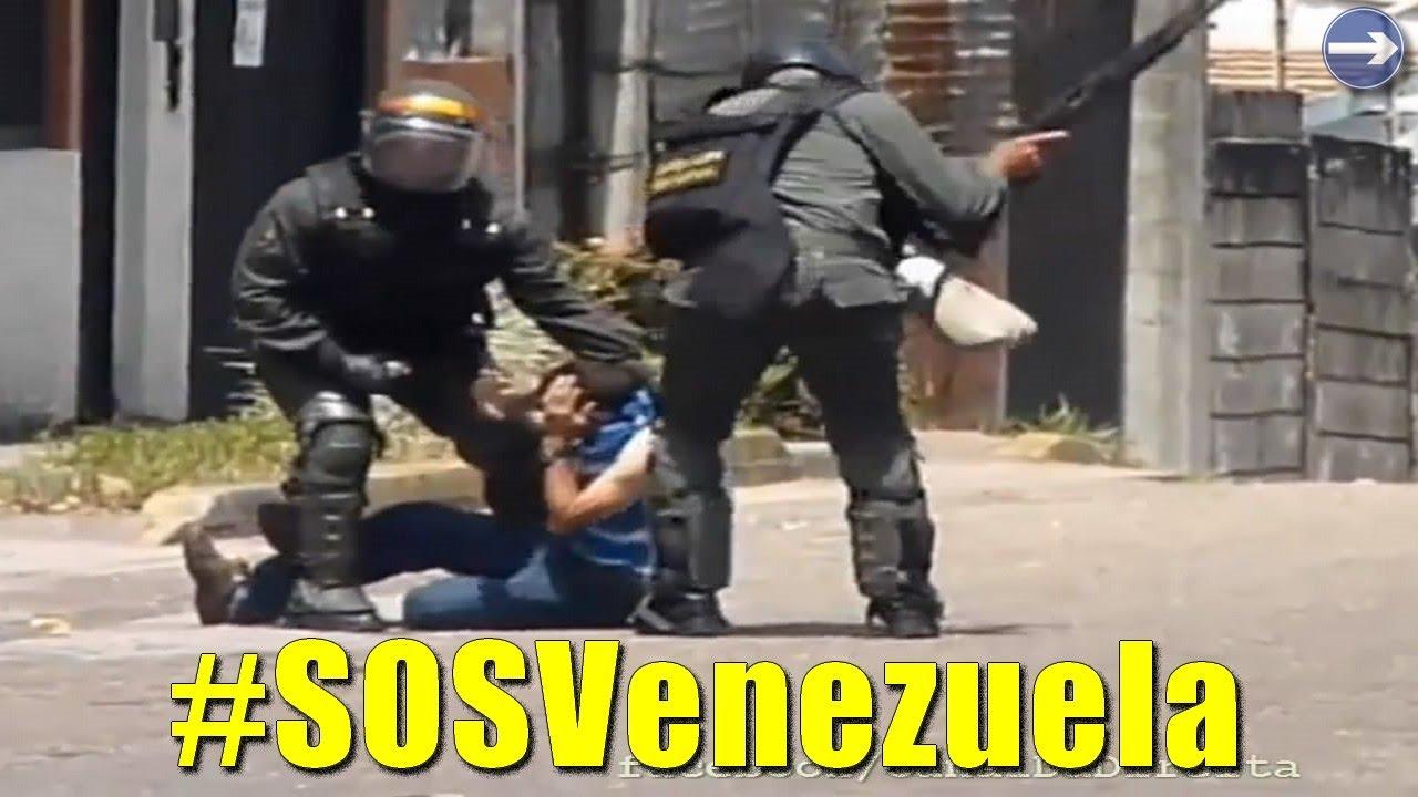 CENAS DA GUERRA CIVIL NA VENEZUELA (censuradas no Brasil) 2