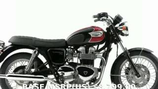 9. 2011 Triumph Bonneville T100 -  Specification Details Info Transmission Specs Engine