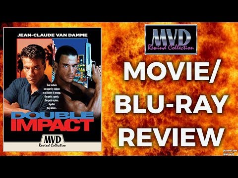 DOUBLE IMPACT (1991) - Movie/Blu-ray Review (MVD Rewind Collection)
