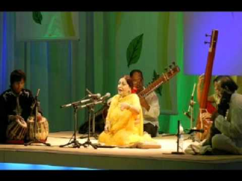 thumri bhairavi - Elegantly rendered and beautifully fabricated! Lovely as herself!