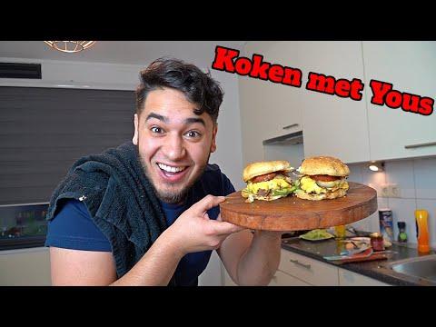 LEKKERSTE HAMBURGERS VOOR IN DE RAMADAN!! - Koken met Yous (Afl.3)