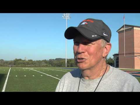 C-N Football: Ken Sparks post scrimmage 8-27-14