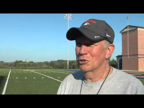 C-N Football: Ken Sparks post scrimmage 8-27-14