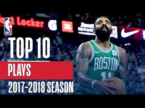 Top 10 Plays: 2018 NBA Season (видео)