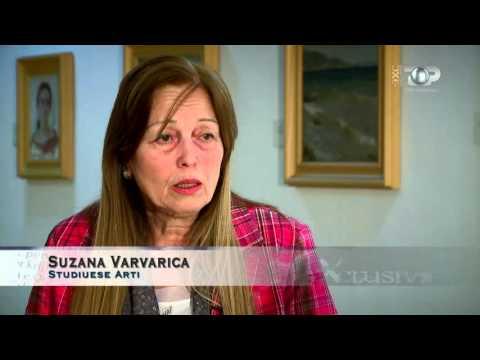 Exclusive, 24/04/2016 - Vangjush Mio, një histori me piktura