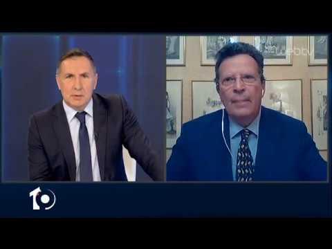 Ο Γιώργος Κύρτσος , ευρωβουλευτής της ΝΔ στο «10» | 22/04/2020 | ΕΡΤ