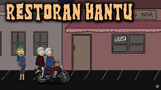 Video Makan Di Restoran Hantu | Animasi Horor Kartun Lucu | Warganet Life MP3, 3GP, MP4, WEBM, AVI, FLV Maret 2019