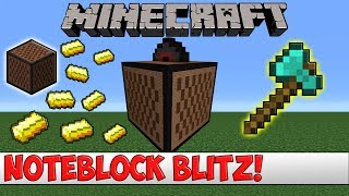 Plugin Thread:► https://www.spigotmc.org/resources/noteblockblitz.27907/How to make a Bukkit/Spigot Server:► https://goo.gl/2BBvlrVisit my PlanetMinecraft page for Map downloads: ► http://goo.gl/KUoswQBackground Music: ► https://goo.gl/Ygtcok★ Contact Email: ltjim007mail@gmail.com★ Server Owner Setup Tutorials:Episode 1 - Compiling a Jar File: https://goo.gl/xuvcOcEpisode 2 - Making the Server: https://goo.gl/2BBvlrEpisode 3 - Port Forwarding: https://goo.gl/hLa9mREpisode 4 - Free Domain Name: https://goo.gl/y1ROHGIf you get an error with a plugin the best course of action is to create a ticket or send the developer a private message containing the error!