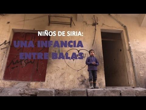 Niños de Siria: una infancia entre balas – Especial en RT