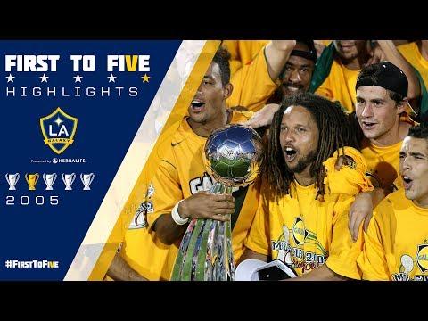 Video: #FirstToFive: 2005 MLS Cup Highlights | LA Galaxy vs. New England Revolution