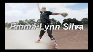 2021 Emma Lynn Silva Pitcher and First Base Softball Skills Video - Easton Preps