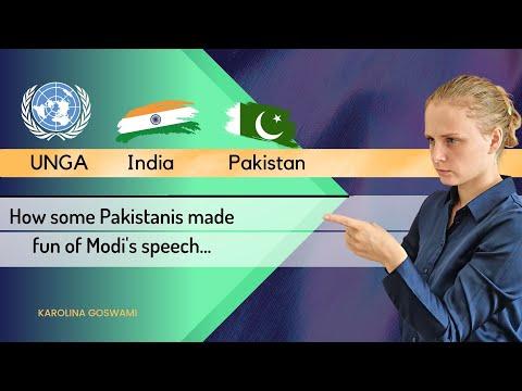 How some Pakistanis made fun of Modi's speech | UNGA | Pak media on India latest | Karolina Goswami