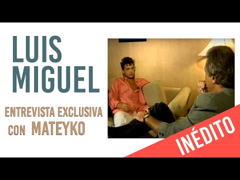 Luis Miguel video Entrevista Argentina - 1993