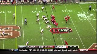 Mike Glennon vs Florida State (2012)