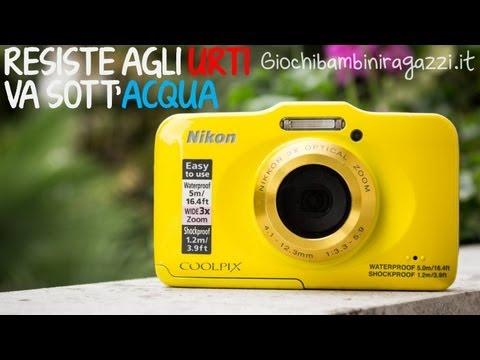 Macchina fotografica per bambini - Nikon Coolpix S31