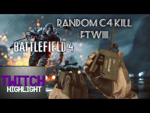 Twitch Highlight: Random C4 Kill FTW