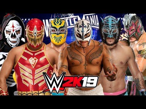 WWE 2K19 | LUCHADOR ELIMINATION CHAMBER