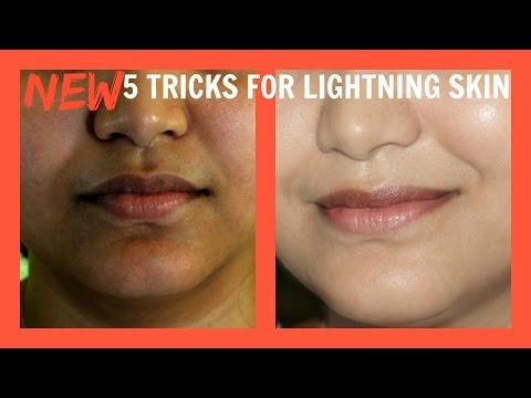 5 Skin Care Secrets to Lighten Your Skin/Lighten Body Skin Colour Naturally hindi