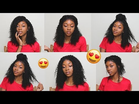 Easy Back to School Curly Hairstyles ( For natural hair AND Wigs)  Lavy Hair