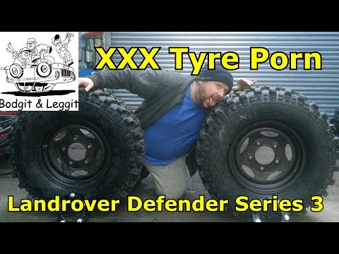 Landrover Defender Series 3 New Tyres (xxx Tyre Porn) Part 1