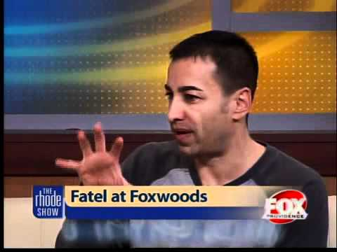 Comedian Mitch Fatel performing at Foxwoods