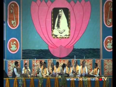 Video Holy Mother Birthday celebration in Leela Geeti -