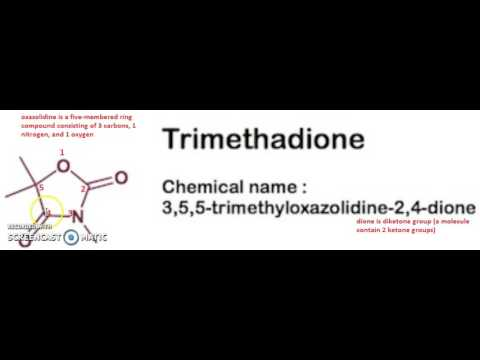 numbering of trimethadione