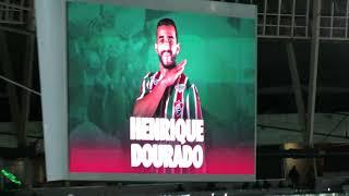 Vídeo que fiz da Torcida do Flu comemorando o segundo gol do Dourado!