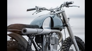 10. Auto Fabrica's Custom Yamaha SR500 Scrambler Between Rugged and Sleek, NakedBikesWorld