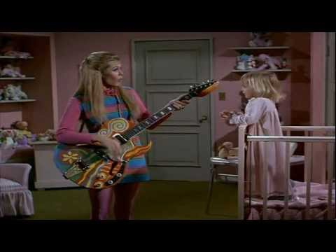 Elizabeth Montgomery sings Rock a bye baby (HQ)
