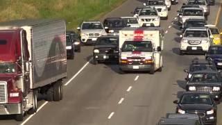 Langley (BC) Canada  city photo : Vehicle Cuts-off Ambulance Going Code-3 Langley BC Canada 02/07/2016