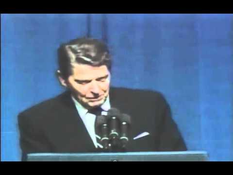 Reagan joke about a Republican campaigning to Democrats